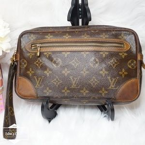 •Authentic Louis Vuitton Marly Dragonne•